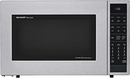 Sharp SMC1585BS 1.5 cu. ft. Microwave Oven with Convection Cooking in Stainless Steel
