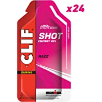 CLIF SHOT - Energy Gel - Razz - (1.2 Ounce Packet, 24 Count)