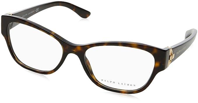 0c672d4ea3c Ralph Lauren RL6151 Eyeglass Frames 5003-52 - 52mm Lens Diameter Dark Havana  RL6151-5003-52 at Amazon Women s Clothing store