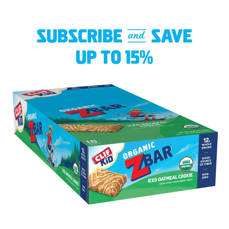 Clif Bar Kid Z heló la galleta de harina de avena, 18 Conde: Amazon.es: Salud y cuidado personal