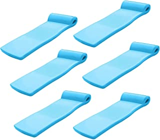 product image for TRC Recreation Super Soft Swimming Pool Float Water Lounger Raft (6 Pack)