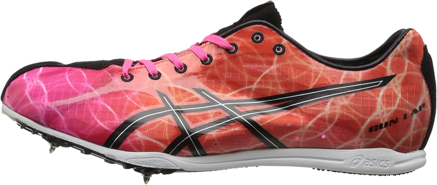 Asics Men's Gunlap Track and Field Shoe Knockout Pink/Black