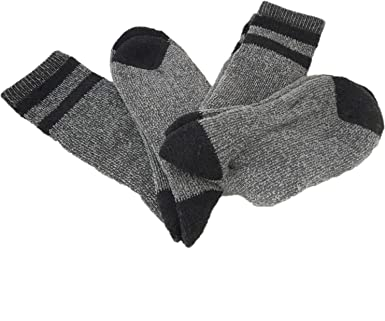 Stanley Mens Wool Cushioned Work Socks, Pack of 2 Pair (Black) at Amazon Mens Clothing store: