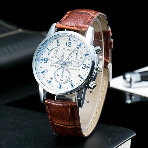 chaoran marca analógico reloj, reloj para hombres de cuarzo, business muñeca reloj banda de