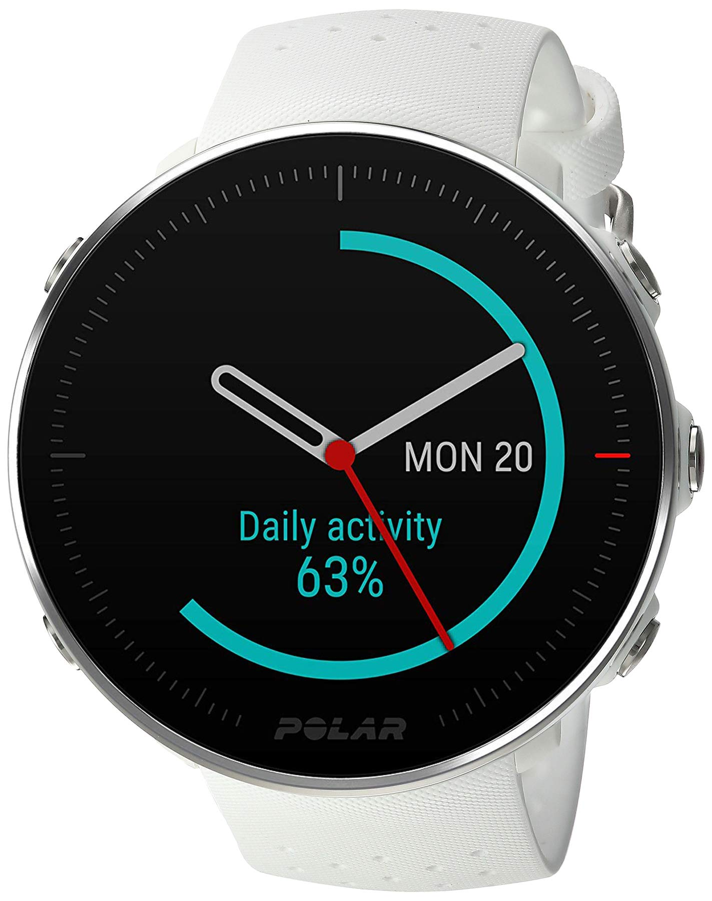 POLAR VANTAGE M -Advanced Running & Multisport Watch with GPS and Wrist-based Heart Rate (Lightweight Design & Latest Technology), White, Small