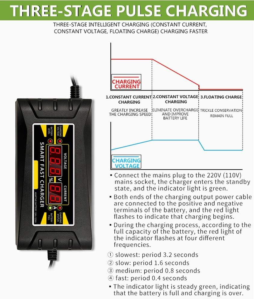 YLOVOW di Salto dellautomobile Starter Power Pack E Auto Battery Booster per 12V del Veicolo e Emergenza Robusto Jump Start con ha Una modalit/à Neve per Low Temperatura,EUplug