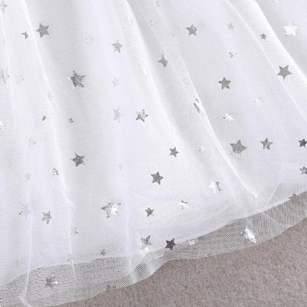 Toraway Toddler Baby Kids Girls Summer Princess Dress Party Pageant Tulle Tutu Dresses
