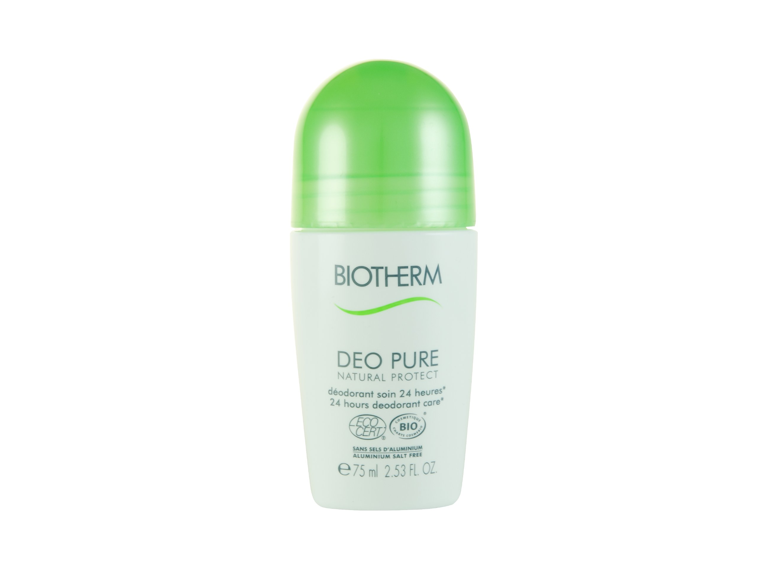 deo pure antiperspirant roll on by biotherm. Black Bedroom Furniture Sets. Home Design Ideas