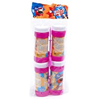 Fun® Its Cool Party Bubbles liquid , 60 ml - Assorted Color - Pack of 4