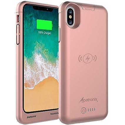 Amazon.com: Alpatronix BXX - Funda con batería para iPhone X ...
