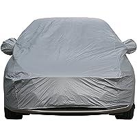 Sipobuy universel Housses pour auto entièrement imperméable à l'eau Scratch Proof Housse de voiture durable coton respirant doublé Heavy Duty (S: 400*160*120CM)