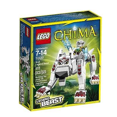 Lego Chima Wolf Legend Beast 70127: Toys & Games