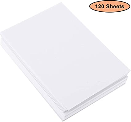 Papel para Acuarela A4 (120 Hojas) - Papel de Algodón Prensado en Frio - Hojas de Dibujo para Artistas y Principiantes, Bocetos, Pintura al Óleo y Acrílica: Amazon.es: Oficina y papelería