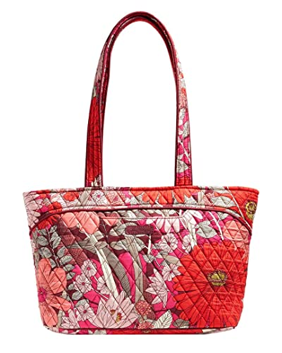 49613c3bb1ba Amazon.com  Vera Bradley Mandy Bohemian Blooms Tote Handbags  Shoes