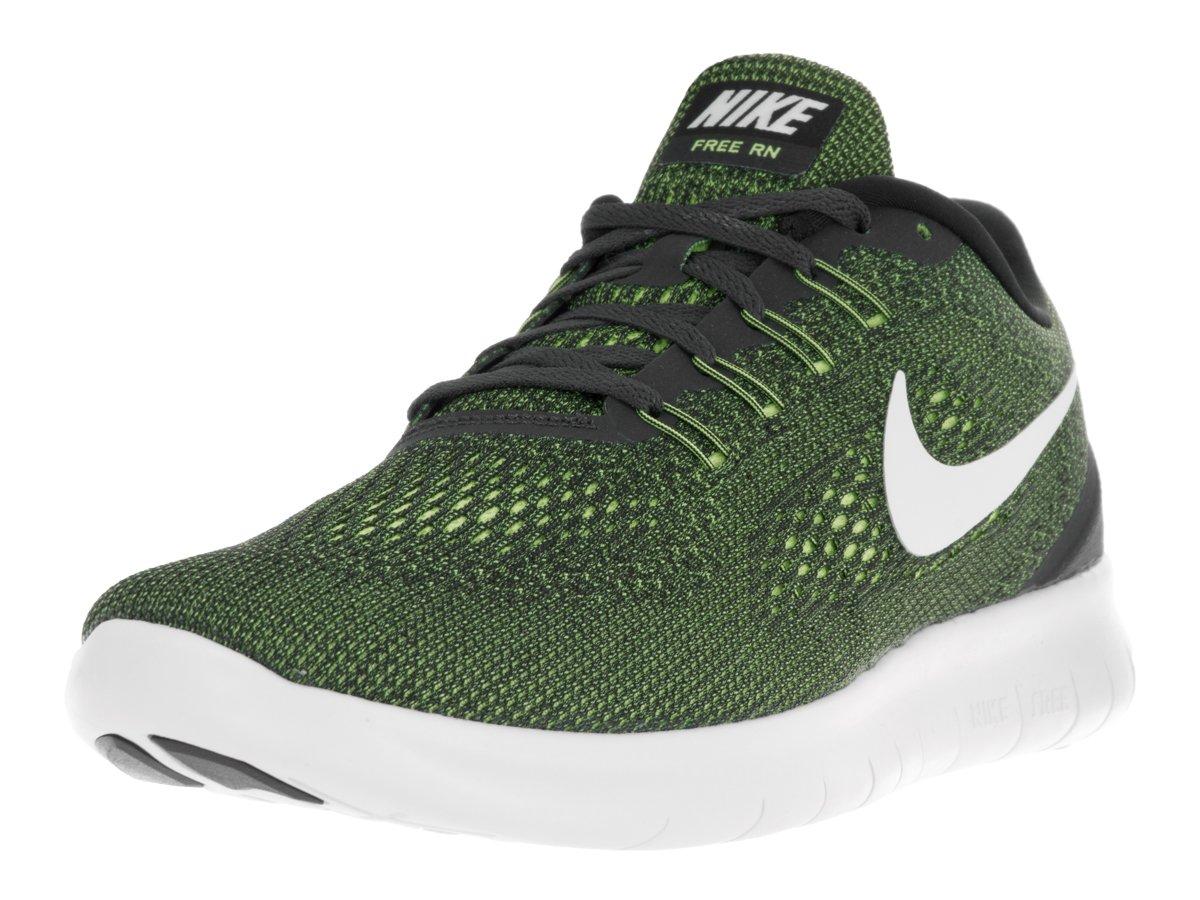 Nike Herren Free RN Gymnastikschuhe, Gruuml;n  39 EU|Gris (Anthracite / Off White-volt-black)