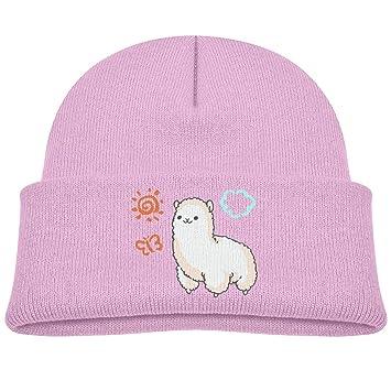 Gorra de Punto Suave de Dibujos Animados de Alpaca para niños y ...