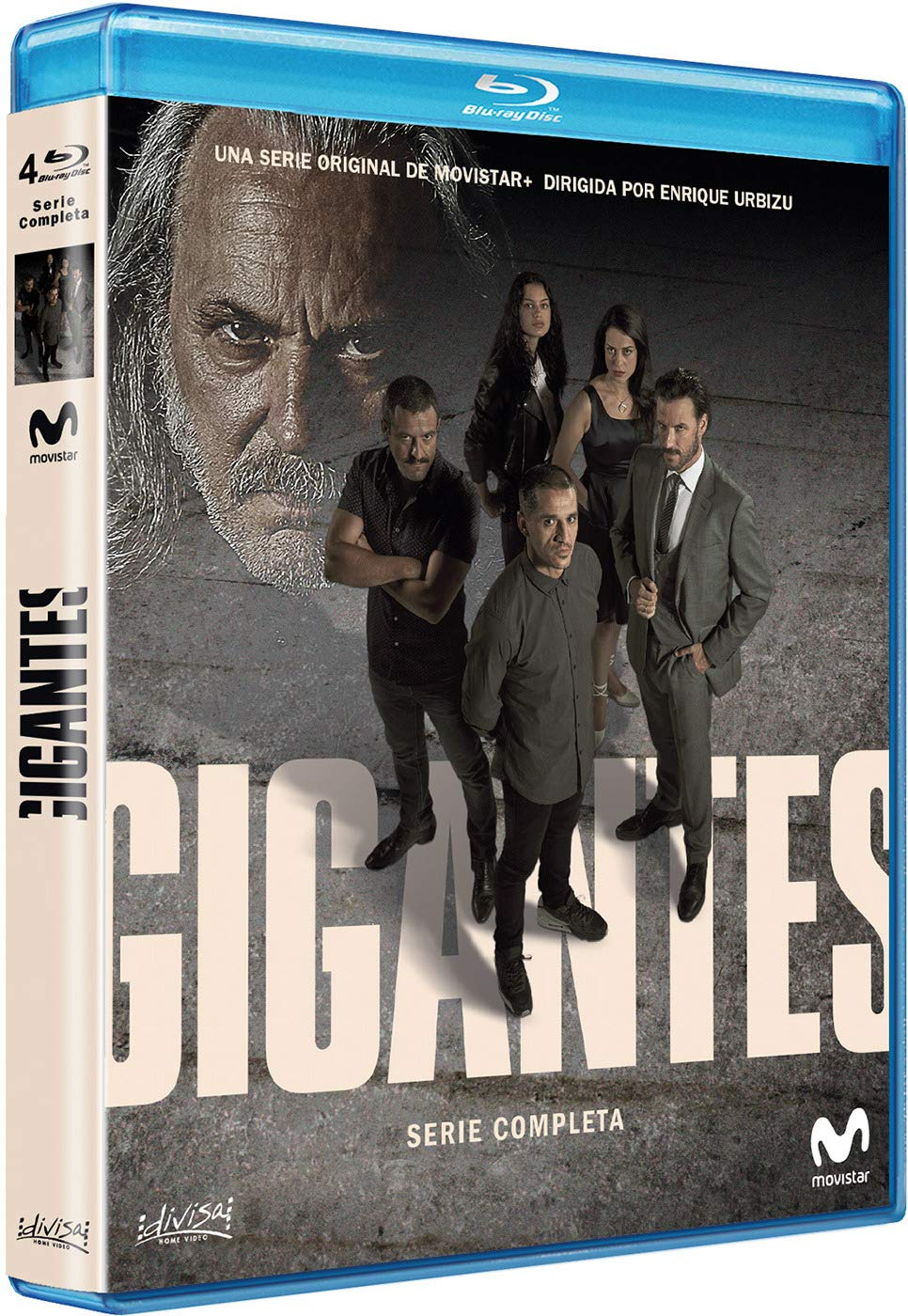 Gigantes - serie completa - BD [Blu-ray]