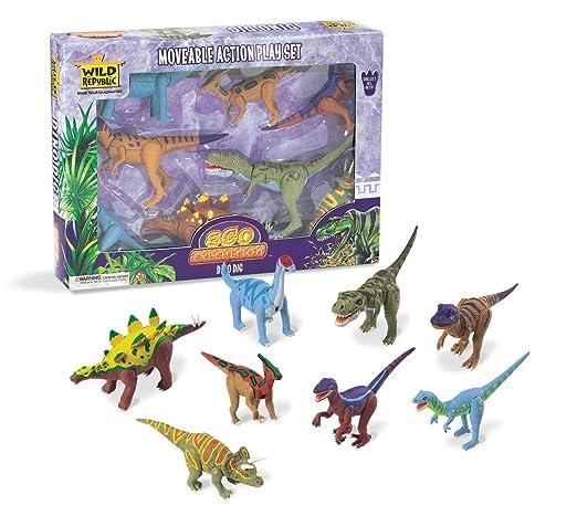 41 opinioni per Wild Republic 64167- Equipaggiamento da spedizione, dinosauri, 8 pezzi
