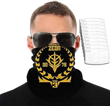 5PCS Face Cover Seamless Bandana Scarf Neck Gaiter Shield Outdoor Cycling