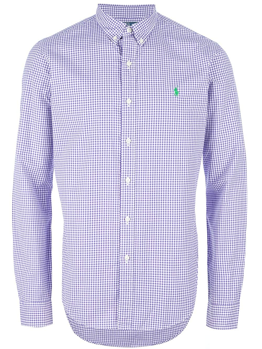 Polo Ralph Lauren Camisas Uomo Classic Fit (l, Purple): Amazon.es ...
