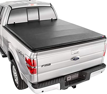 Amazon Com American Tonneau Company Hard Folding Truck Bed Tonneau Cover 76313 Fits 2015 20 Ford F150 6 5 Bed Automotive