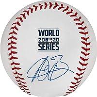 $119 » Austin Barnes Los Angeles Dodgers 2020 MLB World Series Champions Autographed World Series Logo Baseball - Autographed Baseballs