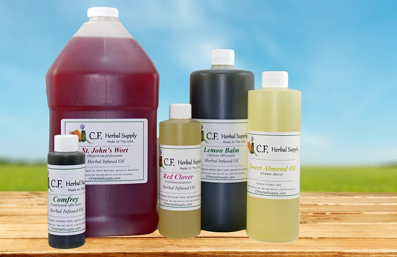 CF Herbal Supply St. John s Wort Herbal Infused Oil Hypericum perforatum 32 ounces