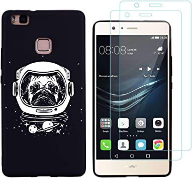 Funda Huawei P9 Lite,Modelo h40 Suave TPU Gel Silicona Protectora Smartphone Carcasa para Huawei P9 Lite (5,0