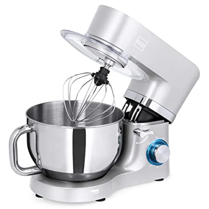 Best Choice Products 6.3qt 660W 6-Speed Multifunctional Tilt-Head Stainless  Steel Kitchen Stand Mixer w/ 3 Mixing Attachments, Scraper Spatula, Splash  ...