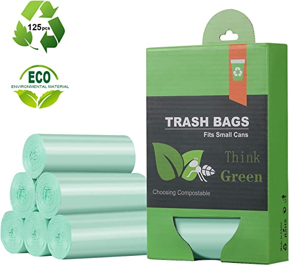 1.2 Gallon Small Trash Bags Garbage Bags