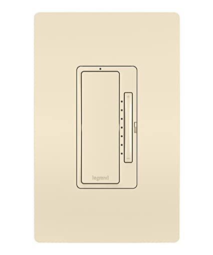 Legrand - Pass & Seymour Radiant Smart WWRL50LA Tru-Universal Wi-Fi Enabled Dimmer, Light Almond - - Amazon.com