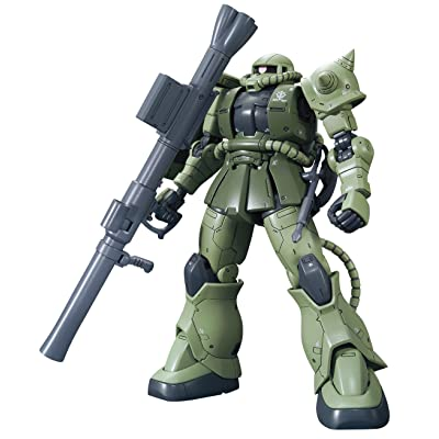 "Bandai Hobby HG 1/144 Zaku II Type C/Type C-5 ""The Origin Model Kit Figure (BAN216745): Toys & Games"