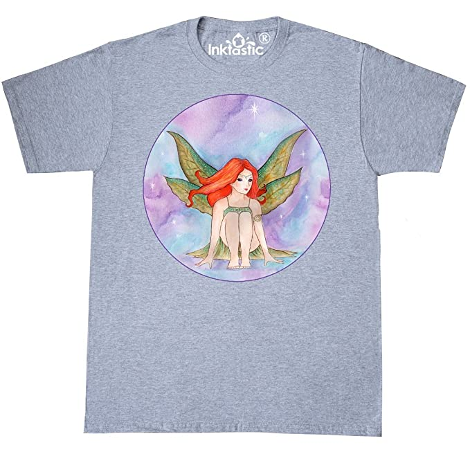 51be8f4f inktastic Fairy from T-Shirt Small Athletic Heather - Michelle  Nelson-Schmidt