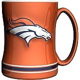 NFL Chicago Bears Sculpted Relief Mug Alternate Color, 14-Ounce, Orange