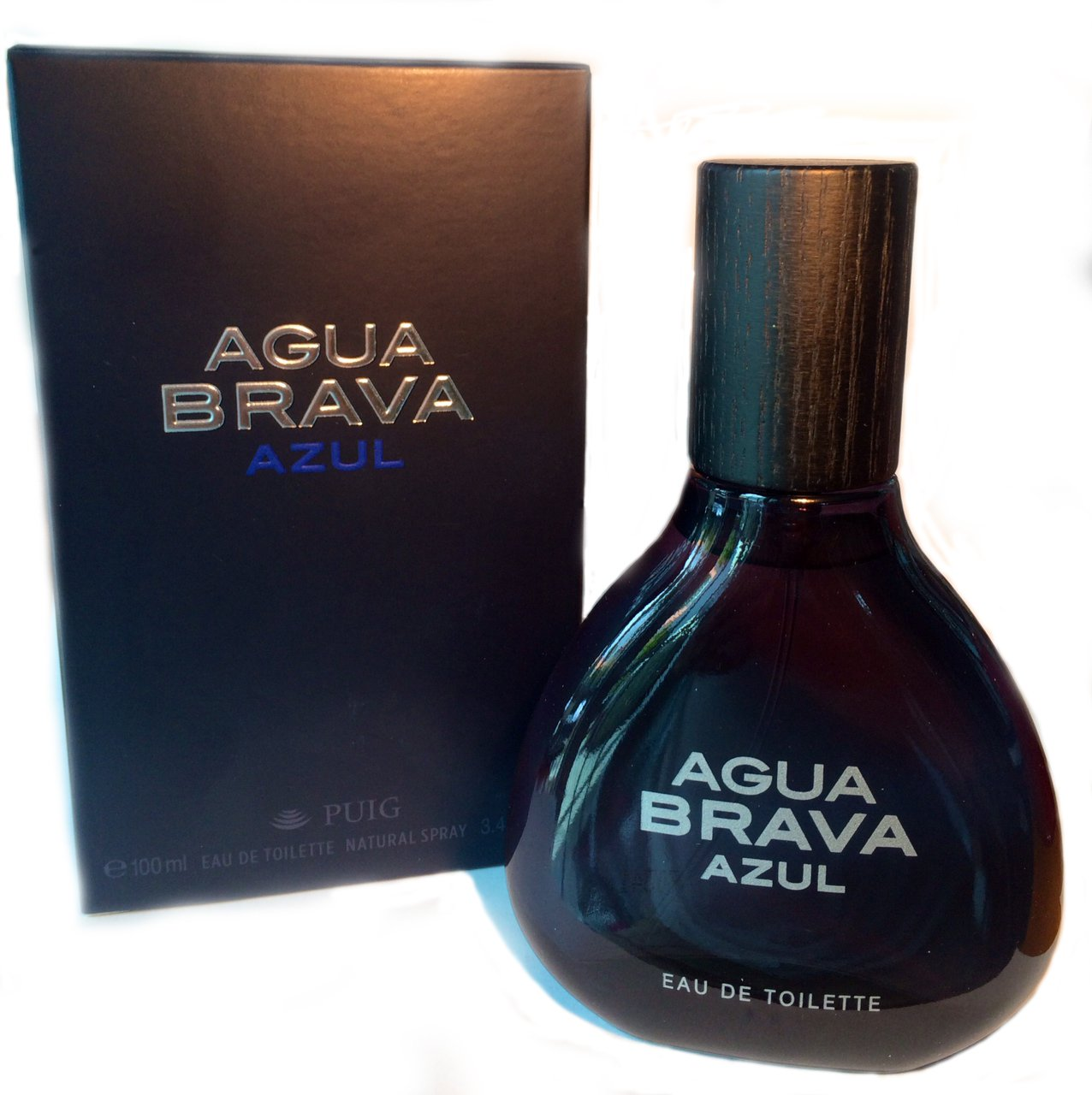 Agua Brava New! Agua Brava Azul for Men Eau De Toilette 100ml/3.4 Fl