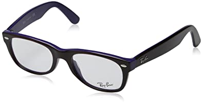 32e6526056 Image Unavailable. Image not available for. Color  Ray-Ban RX5184 Wayfarer  Eyeglasses-5215 ...