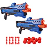 Zuru X-shot Chaos Orbit Dart Ball Blaster (100 Rounds) - Double Blaster Pack by Zuru