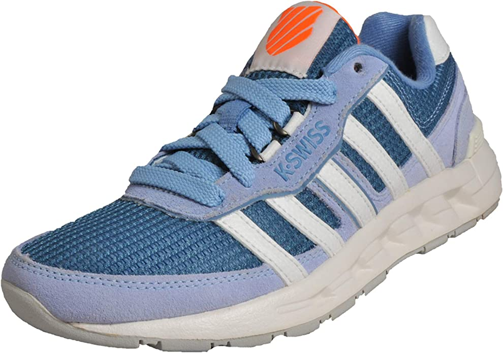 K Swiss Truxton 2 Mujer Zapatillas Deportivas para Correr Azul/Blanco/Naranja 37.5 EU: Amazon.es: Zapatos y complementos
