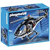 Playmobil 5563 City Action Police Tactical Unit Helicopter