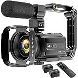 Video Camera Camcorder 4K 48MP YouTube Camera WiFi Digital Camera Vlogging Camera Vlog Video Camera Camcorder Night Vision Ca