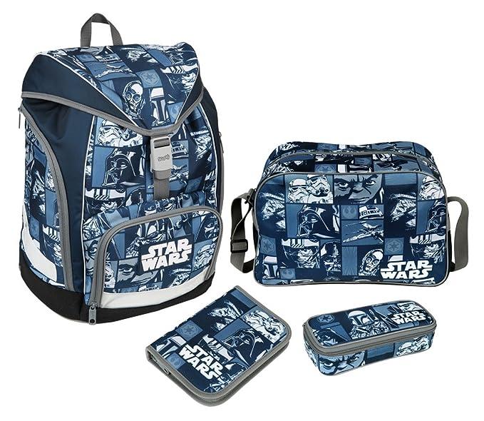 Set mochila escolar Star Wars