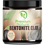 Indian Healing Bentonite Detox Clay - 16 oz 100% Natural Powder Face Mask Reduces Acne - Aztec Natural Deep Pore Cleansing - All Natural for Skin & Hair Removes Toxins Premium Nature