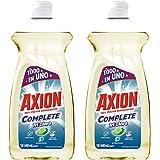 2 piezas de Lavatrastes Axion Tricloro 640ml