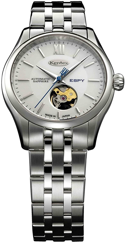 Kentex reloj espia 3 automático a corazón abierto e573 m-07 hombre: Amazon.es: Relojes