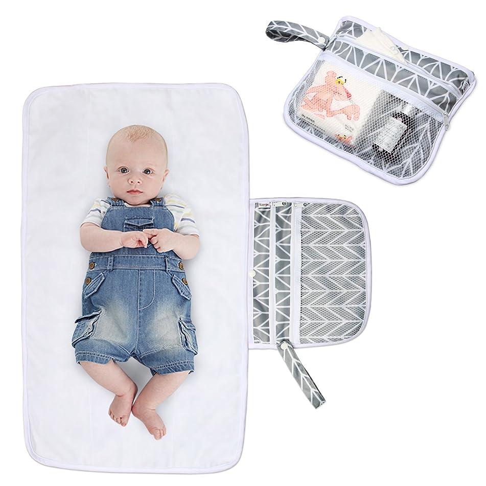 ピルファー床を掃除するオークランドBiuuu 赤ちゃんの再使用可能なマットレス防水性のおむつ交換パッド新生児ウォッシャブルマット