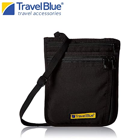 Travel Blue Portadocumenti da collo 9b9518f4188