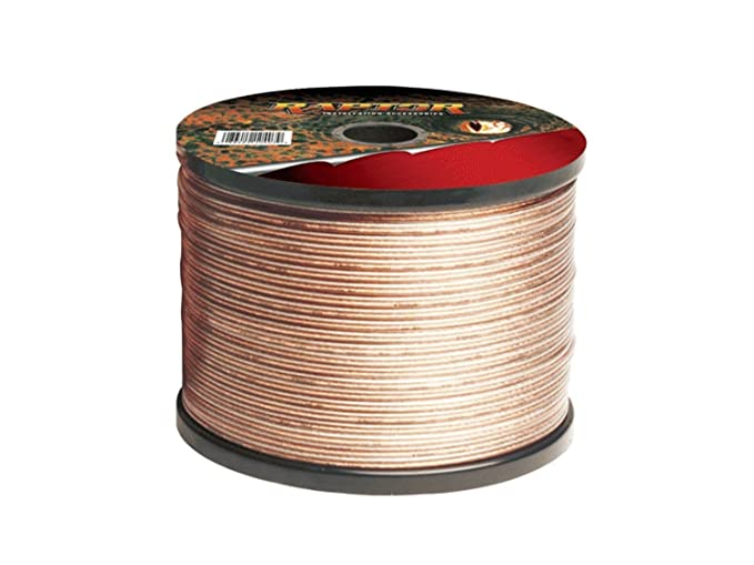 Ideal for Car Audio /& Home HiFi 14 AWG - Outside Dimensions of Cable: 9.1mm x 4.2mm 30A Max Multi-Strand 444 2x 222 Strand electrosmart 5m Quality 2 x 2.5mm/² Loud Speaker Cable