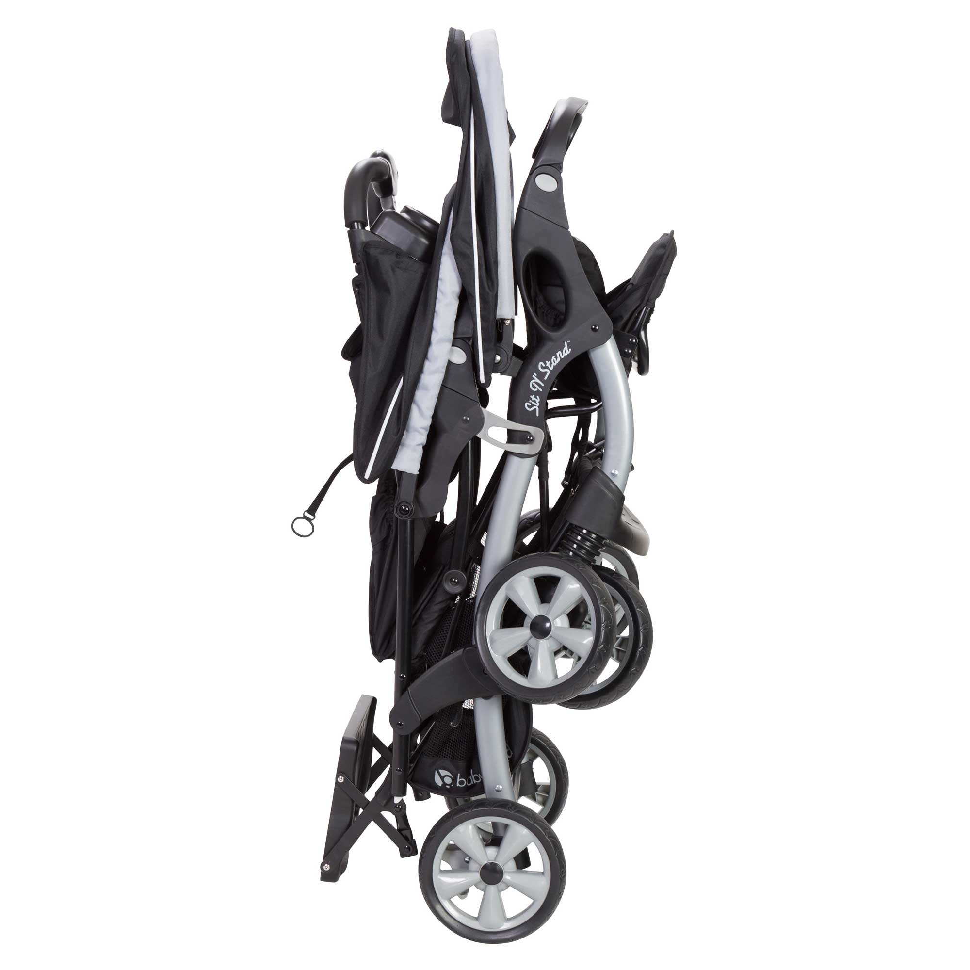Baby Trend Sit N Stand Tandem Stroller + Infant Car Seat Travel System, Stormy by Baby Trend (Image #7)