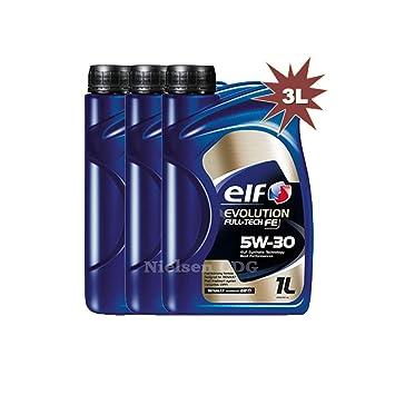 Aceite sintético de motor Elf Evolution Full-Tech FE W-30 3 ...