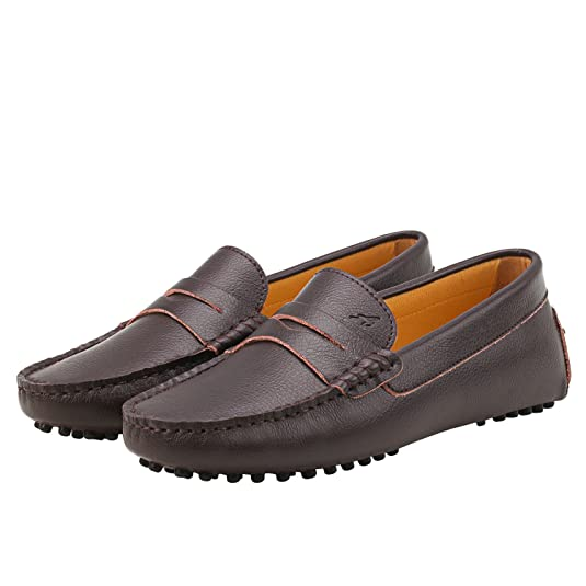 Shenduo Mocassini Donna in Pelle comode Loafers Scarpe Casual D7052